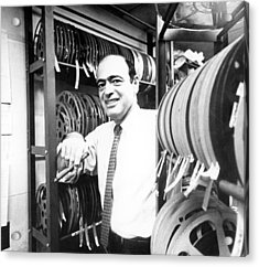 Fred Freed In The 1960s Acrylic Print by Everett