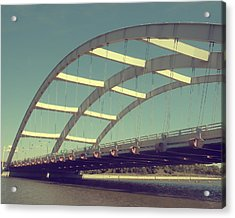 Freddie Sue Bridge Acrylic Print by Kristen Cavanaugh