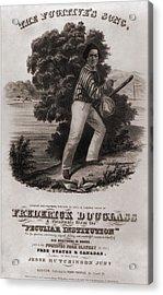 Frederick Douglass 1818-1895 Acrylic Print by Everett