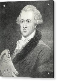 Frederick William Herschel, Astronomer Acrylic Print by Science, Industry & Business Librarynew York Public Library