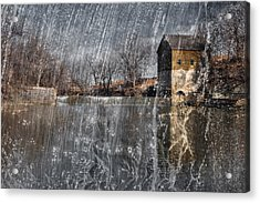 Acrylic Print featuring the photograph Fredonia Mill by Brian Duram