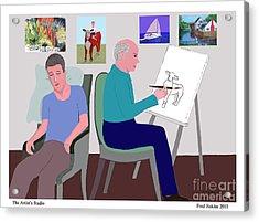 Fred's Studio Acrylic Print