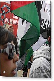 Free Palestine Acrylic Print