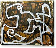 Freedom 019 Acrylic Print by Omar Sangiovanni