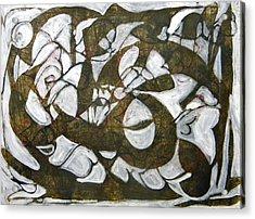 Freedom 20 Acrylic Print by Omar Sangiovanni