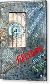 Freedom Acrylic Print by Ian  MacDonald