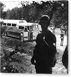 Freedom Riders, 1961 Acrylic Print by Granger