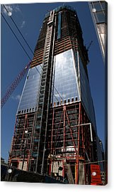 Freedom Tower 5 Acrylic Print by Andrew Fare