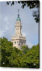 Freedom Tower Acrylic Print by Dieter  Lesche