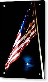 Flag On Federal Hill Acrylic Print