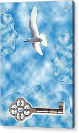 Freeing My Dreams Acrylic Print by Steeve Dubois