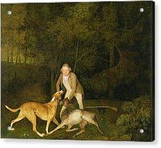 Freeman - The Earl Of Clarendon's Gamekeeper Acrylic Print by George Stubbs
