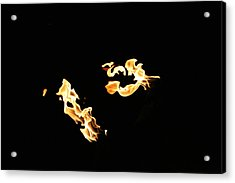 Freeze Fire 2 Acrylic Print