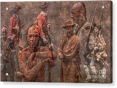 French And Indian War 1754 - 1763 Acrylic Print by Randy Steele