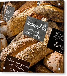French Bread Of Provence Acrylic Print by Kent Sorensen