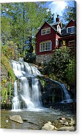 French Broad River Falls  Acrylic Print