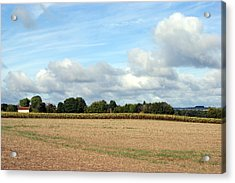 French Countryside Acrylic Print by Chris Boulton