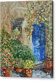 French Doorway Acrylic Print