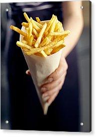 French Fries Acrylic Print by David Munns