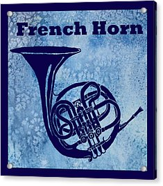 French Horn Acrylic Print