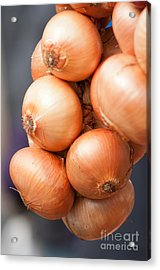 Acrylic Print featuring the photograph French Onions by Andrew  Michael