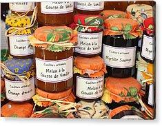 French Preserves Acrylic Print by Yvonne Ayoub