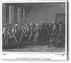 French Revolution, 1793 Acrylic Print
