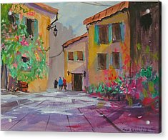 French Village Acrylic Print