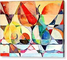 Fresh Fruit Acrylic Print by Mindy Newman