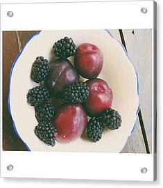 Fresh Fruits Acrylic Print