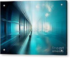 Freshness Of Air Acrylic Print by Frank Waechter