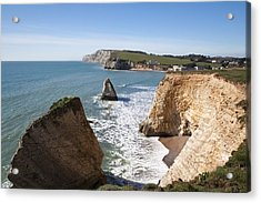 Acrylic Print featuring the photograph Freshwater Bay by Shirley Mitchell