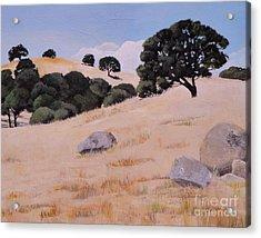 Fresno Foothills Acrylic Print