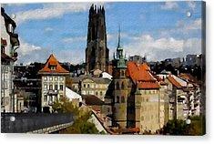 Fribourg Switzerland Acrylic Print