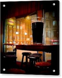 Friday Night Beer Acrylic Print