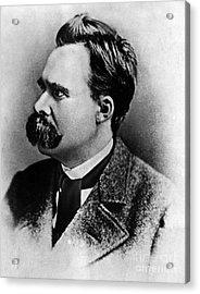 Friedrich Wilhelm Nietzsche, German Acrylic Print by Omikron