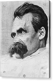 Friedrich Wilhelm Nietzsche, German Acrylic Print by Photo Researchers