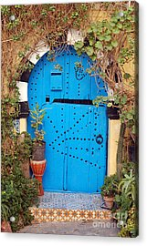 Acrylic Print featuring the photograph Friendship Door by Eva Kaufman