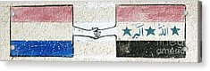 Friendship Flags Acrylic Print by Unknown
