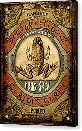 Frog Skin Acrylic Print