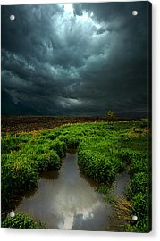 From Above Acrylic Print by Phil Koch