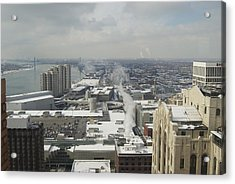 From Atop The Guardian 1758 Acrylic Print by Michael Peychich