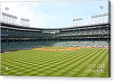 From Center Acrylic Print by David Bearden