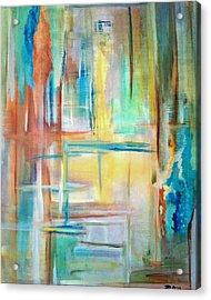 From Dusk To Dawn Acrylic Print by Derya  Aktas