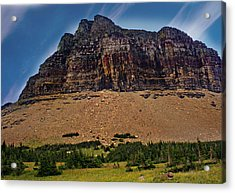 From Logan Pass Acrylic Print by Marty Koch