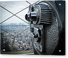 From Observation Deck. Acrylic Print by N. Umnajwannaphan