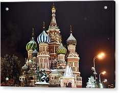 From Russia With Love Acrylic Print by Kevin Askew