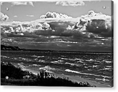 From The Beach Acrylic Print by Randall  Cogle