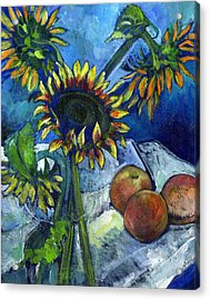 From The Farmer's Market Acrylic Print by Carol Mangano