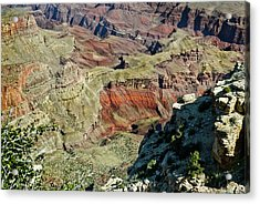 Acrylic Print featuring the painting From Yaki Point 6 Grand Canyon by Bob and Nadine Johnston